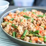 smokey green bean turkey skillet