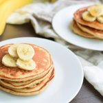 Banana Protein Pancakes Recipe - Delicious, healthy way to eat cake for breakfast! With a little extra protein :)