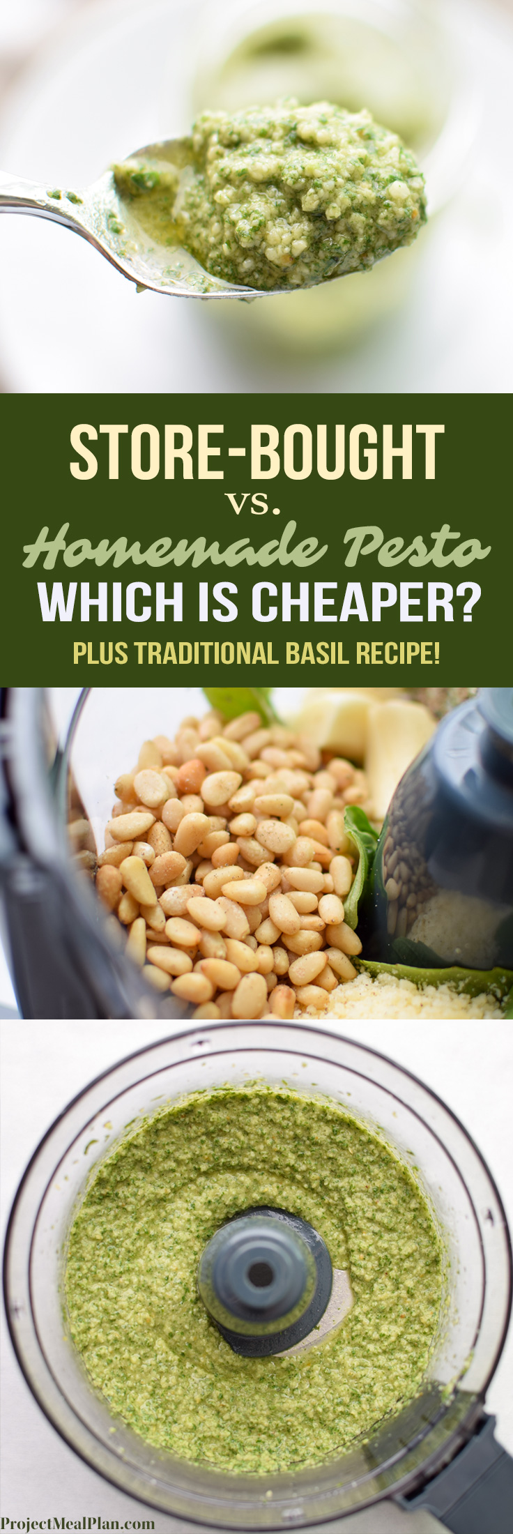 Store-Bought Vs. Homemade Pesto: Which is Cheaper?