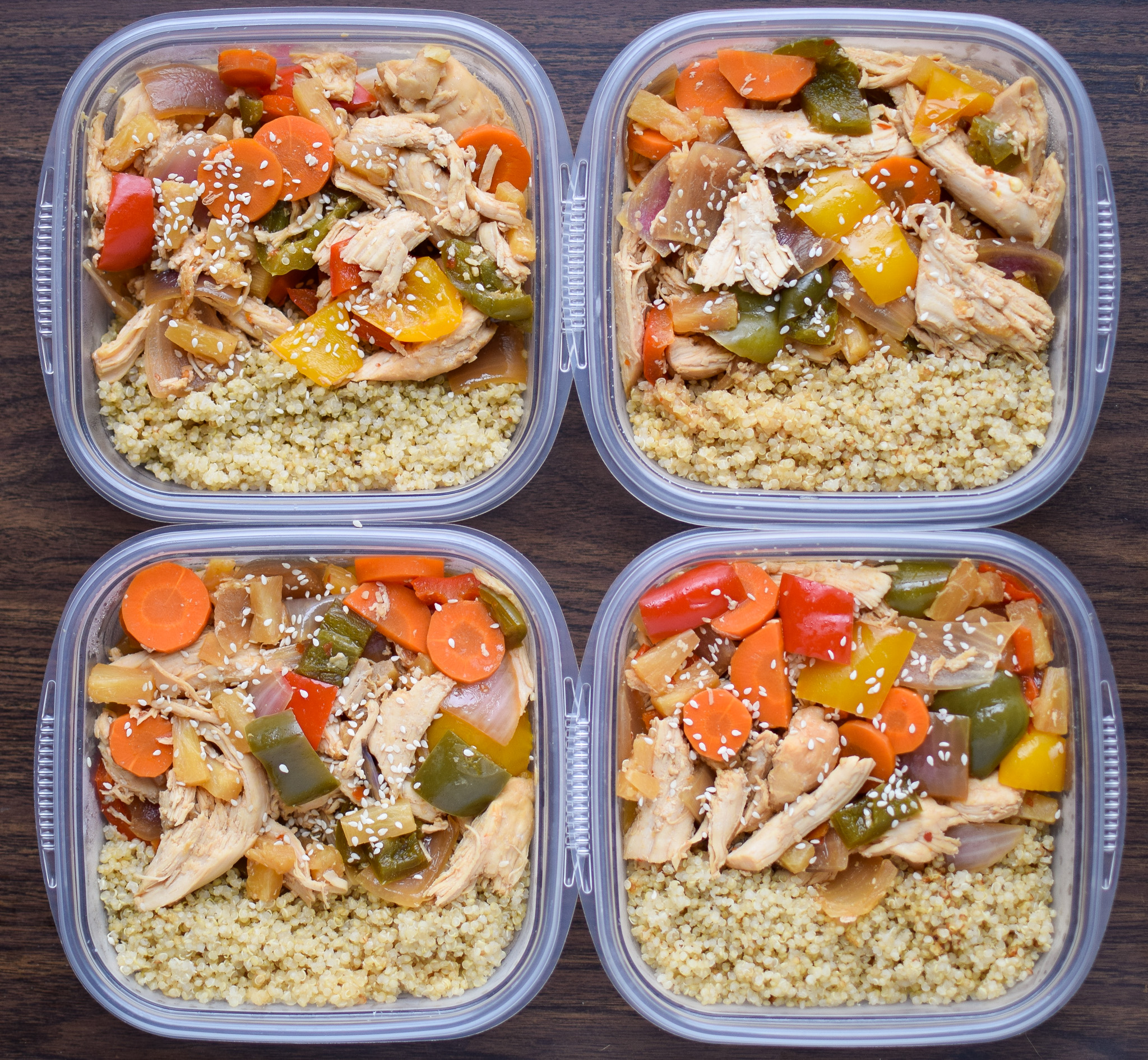 Sunday Meal Prep for November 6th, 2016 - Sunday Meal Prep Steps, shopping list, macro counts and more! - ProjectMealPlan.com