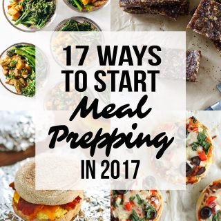 17 Ways to Start Meal Prepping in 2017 - Get your meal prep on in the new year with these ideas! - ProjectMealPlan.com