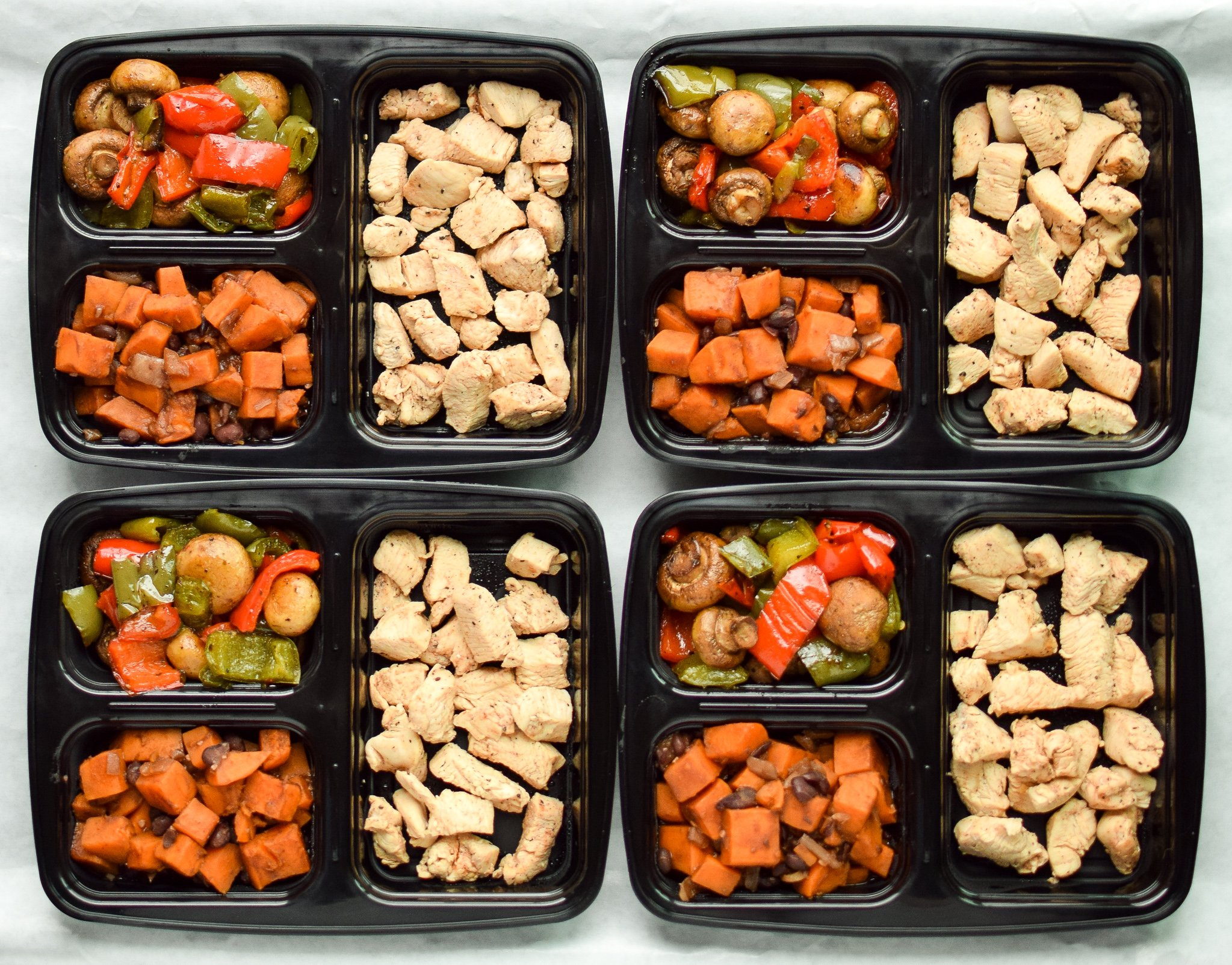 Sunday Meal Prep for November 27th, 2016 - Sunday Meal Prep Steps, shopping list, macro counts and more! - ProjectMealPlan.com