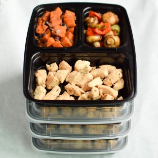Sunday Meal Prep for December 4th, 2016 - Sunday Meal Prep Steps, shopping list, macro counts and more! - ProjectMealPlan.com