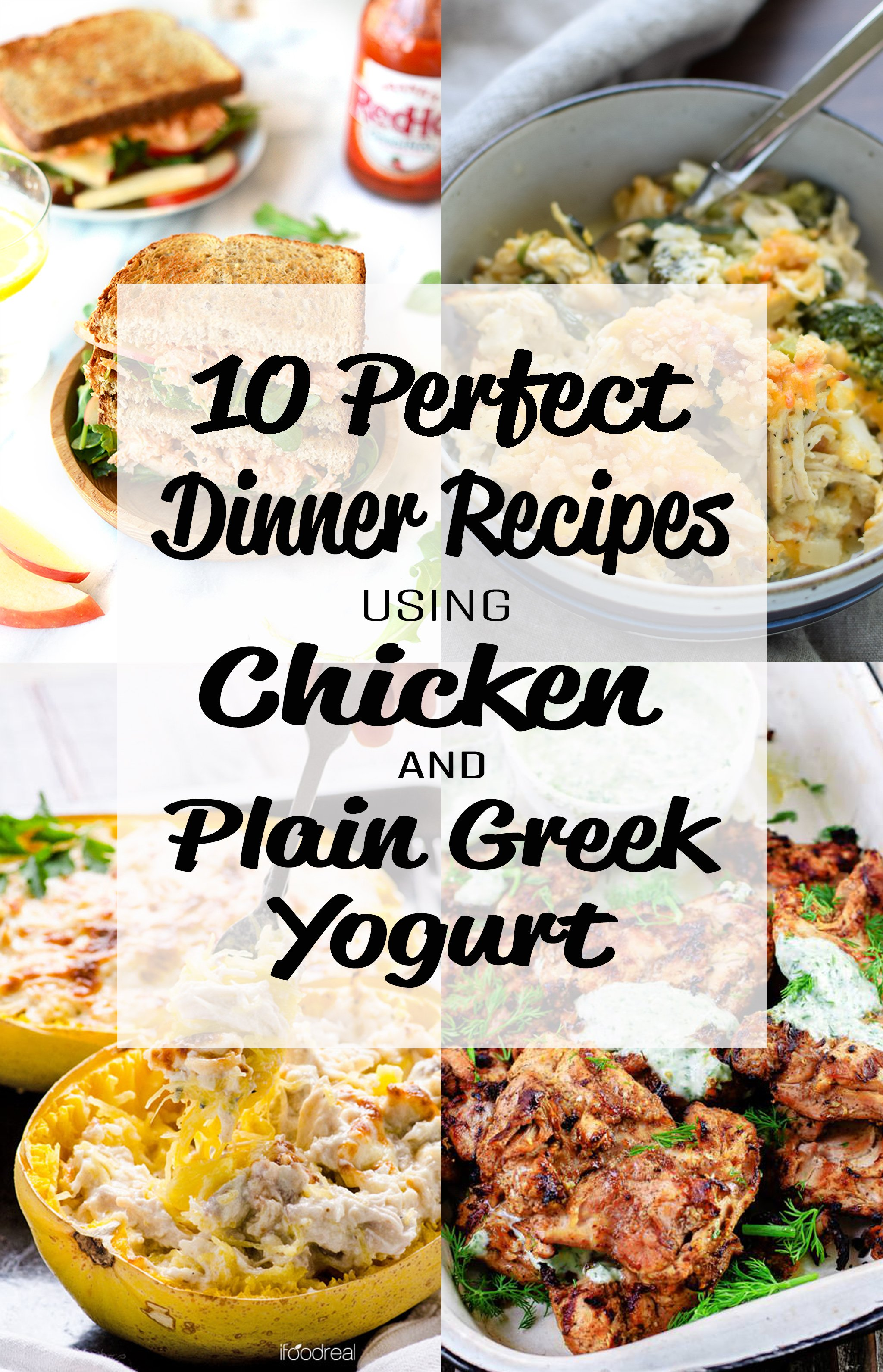 10 Perfect Dinner Recipes Using Chicken And Plain Greek Yogurt Project Meal Plan