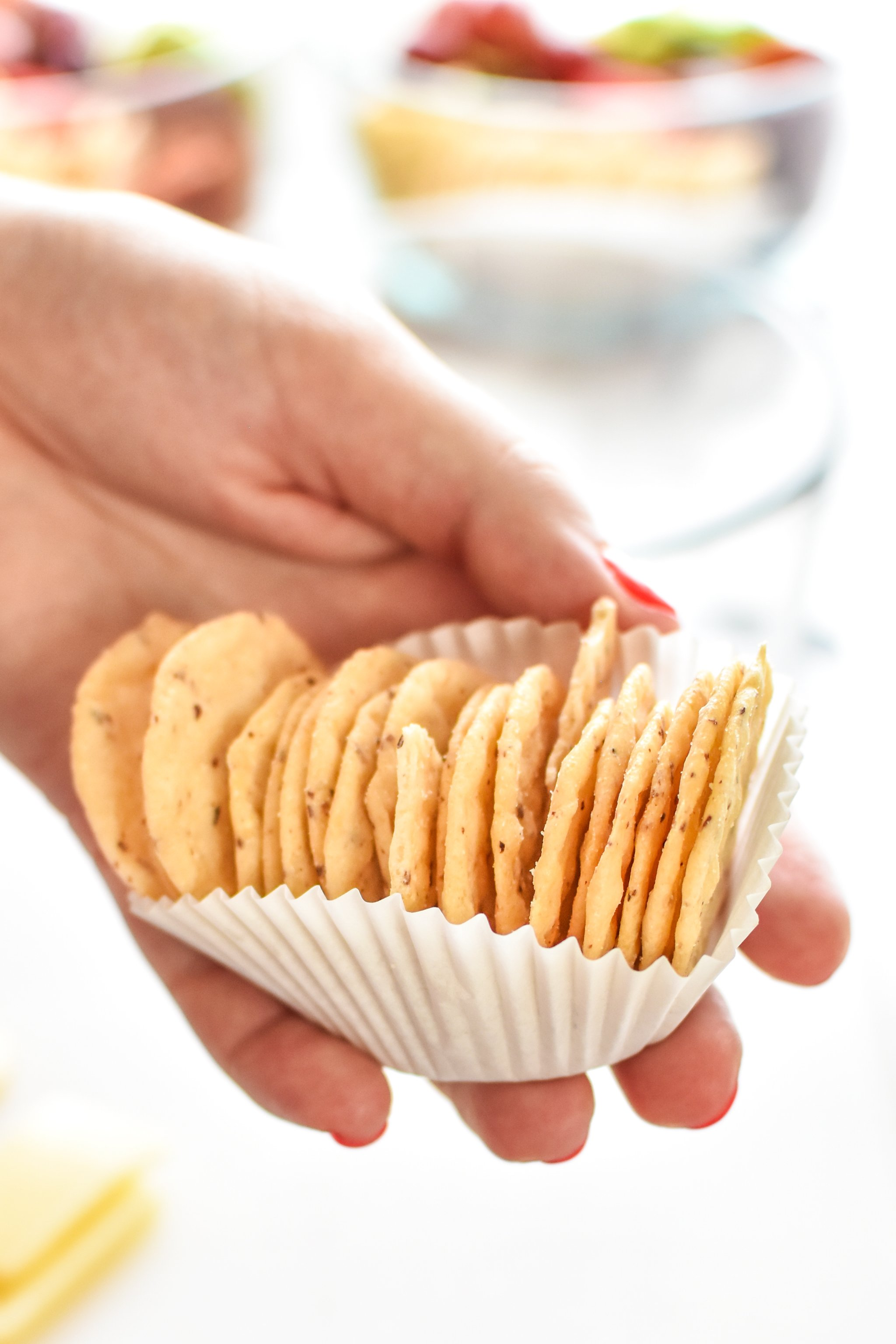 keep your crackers in a separate container or sleeve to reduce moisture