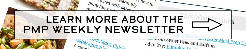 Sign up for the Project Meal Plan Weekly Newsletter!