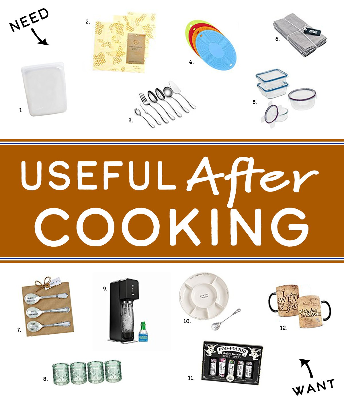 Holiday Gift Guide for the Home Cook - Find useful things home cooks love and use every day in this year's Holiday Gift Guide for the Home Cook! Here are Useful Gift Ideas for After Cooking!