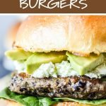 Freezer friendly black bean burgers