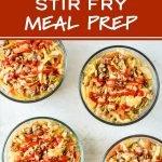 Spicy Ground Turkey & Cabbage Stir Fry Meal Prep