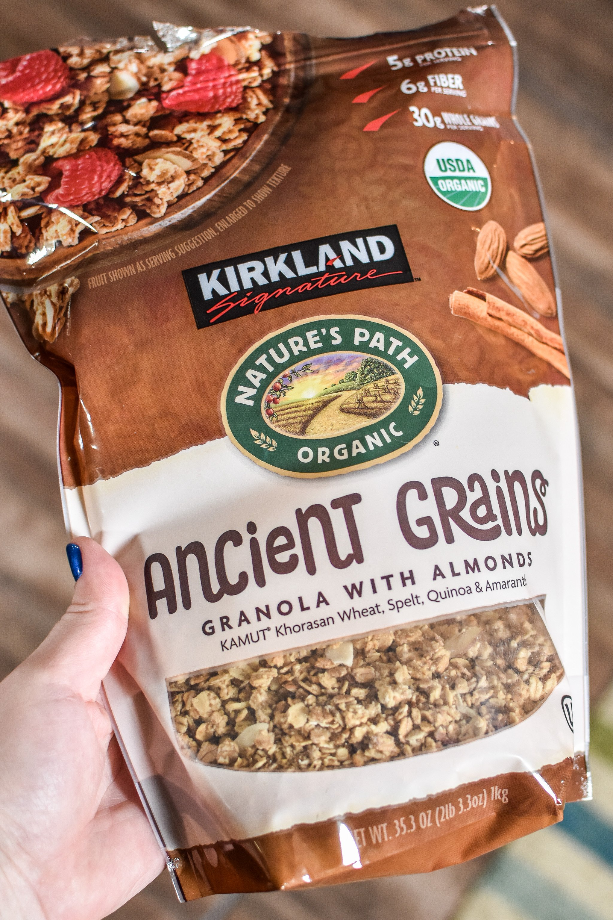 granola is one of the 10 staple meal prep supplies always in my kitchen