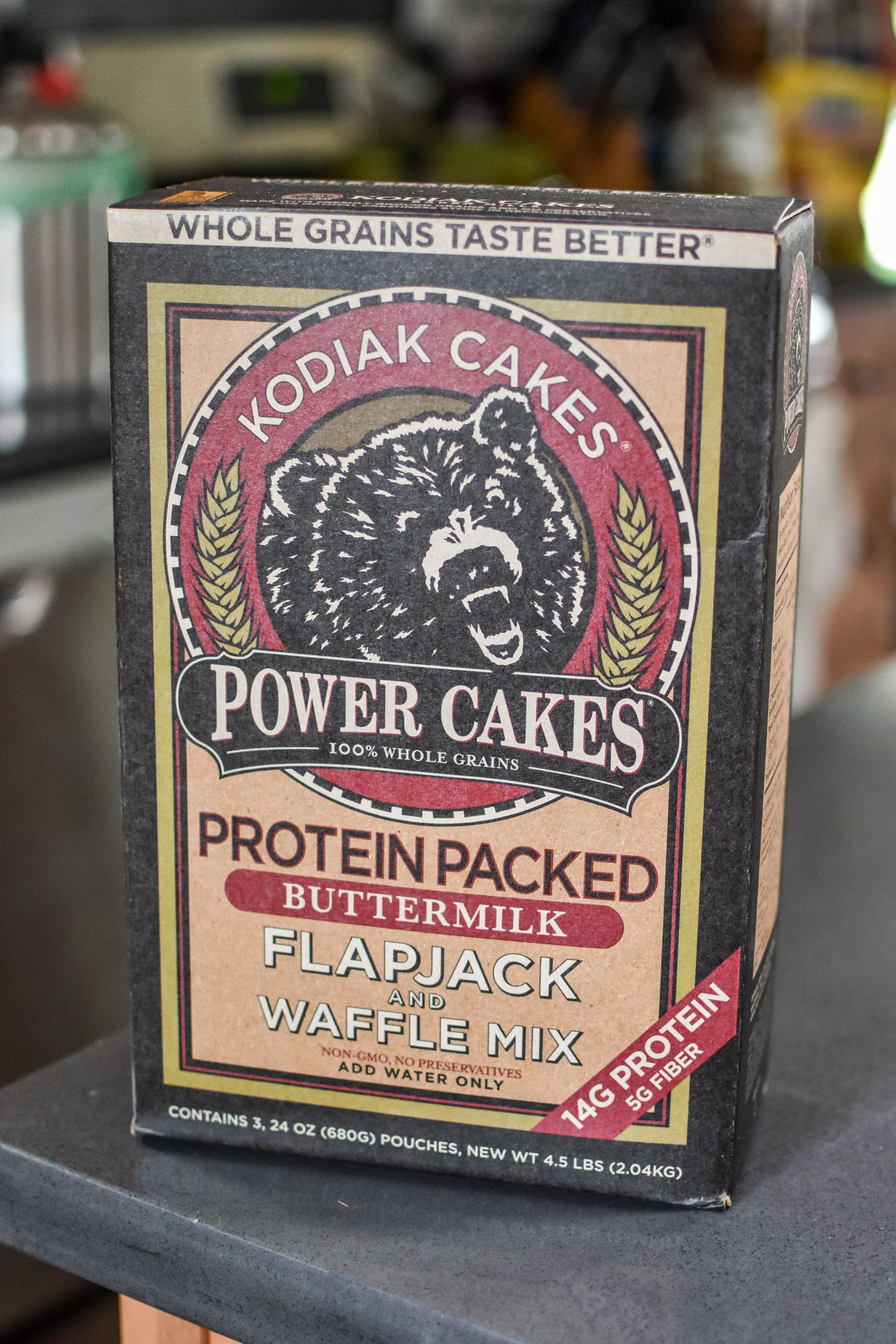 pancake mix for 10 staple meal prep items always in my kitchen.