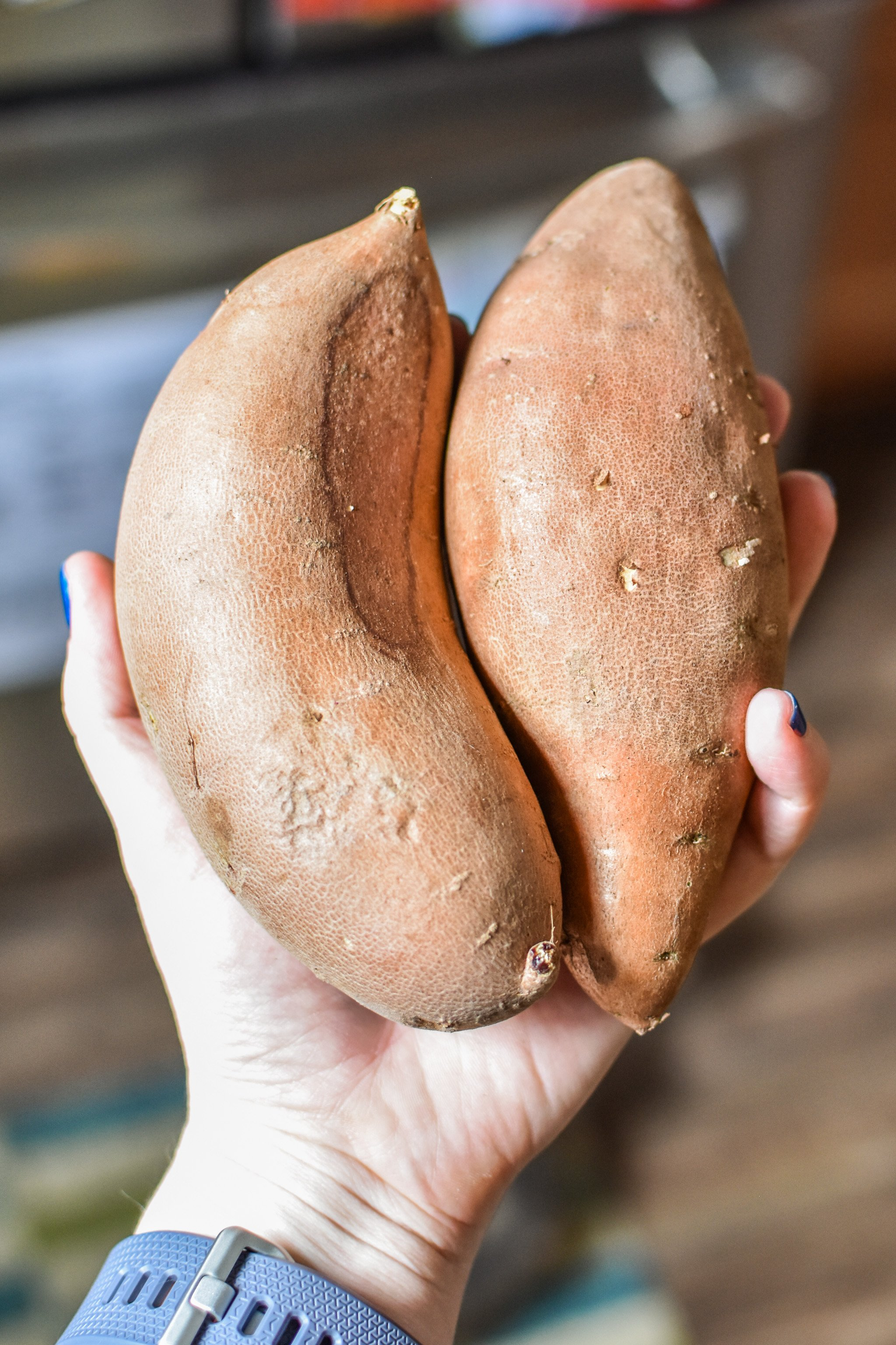 Sweet potatoes for 10 staple meal prep foods always in my kitchen