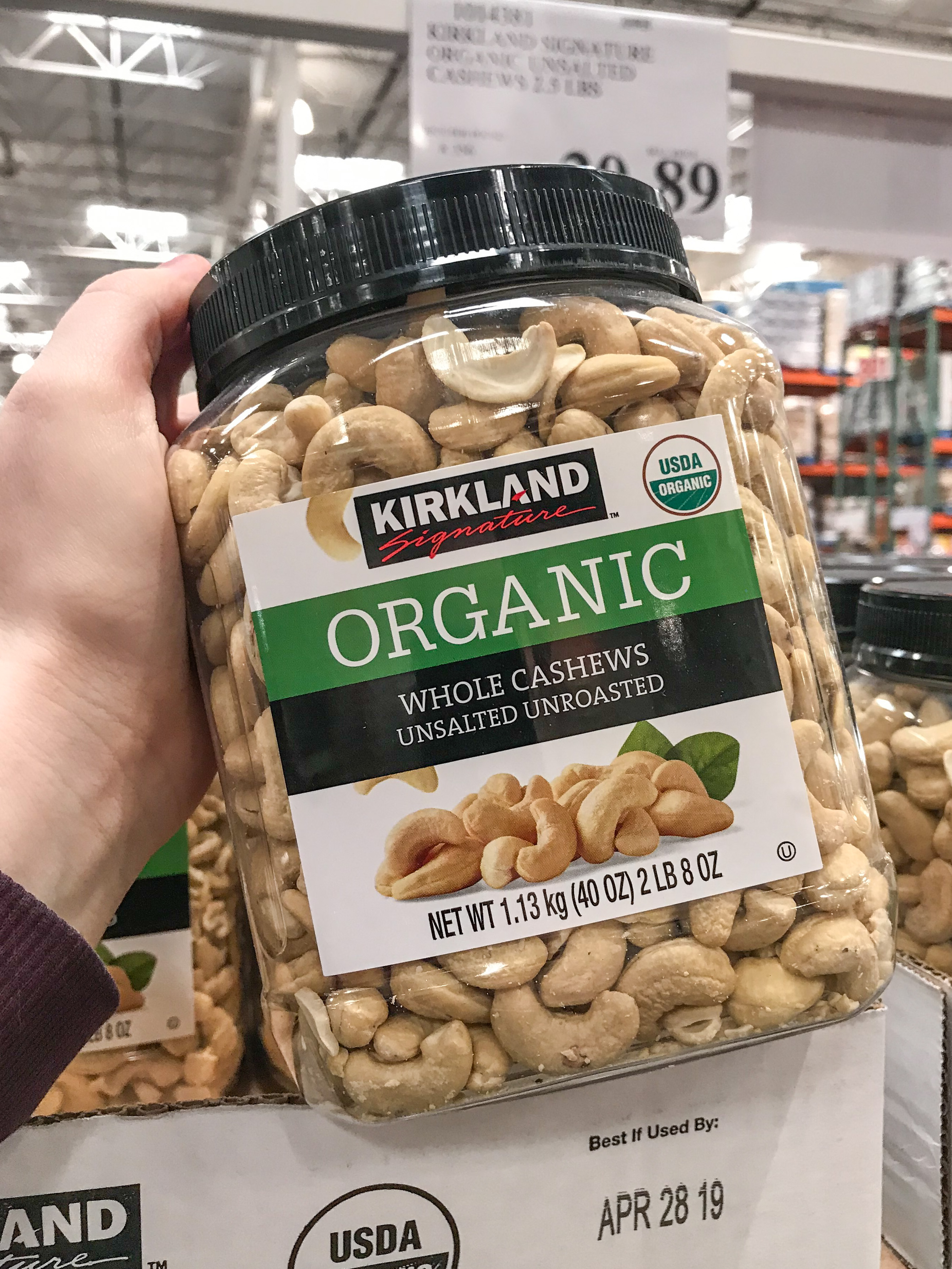 Nuts are one of the best snacks to buy at costco