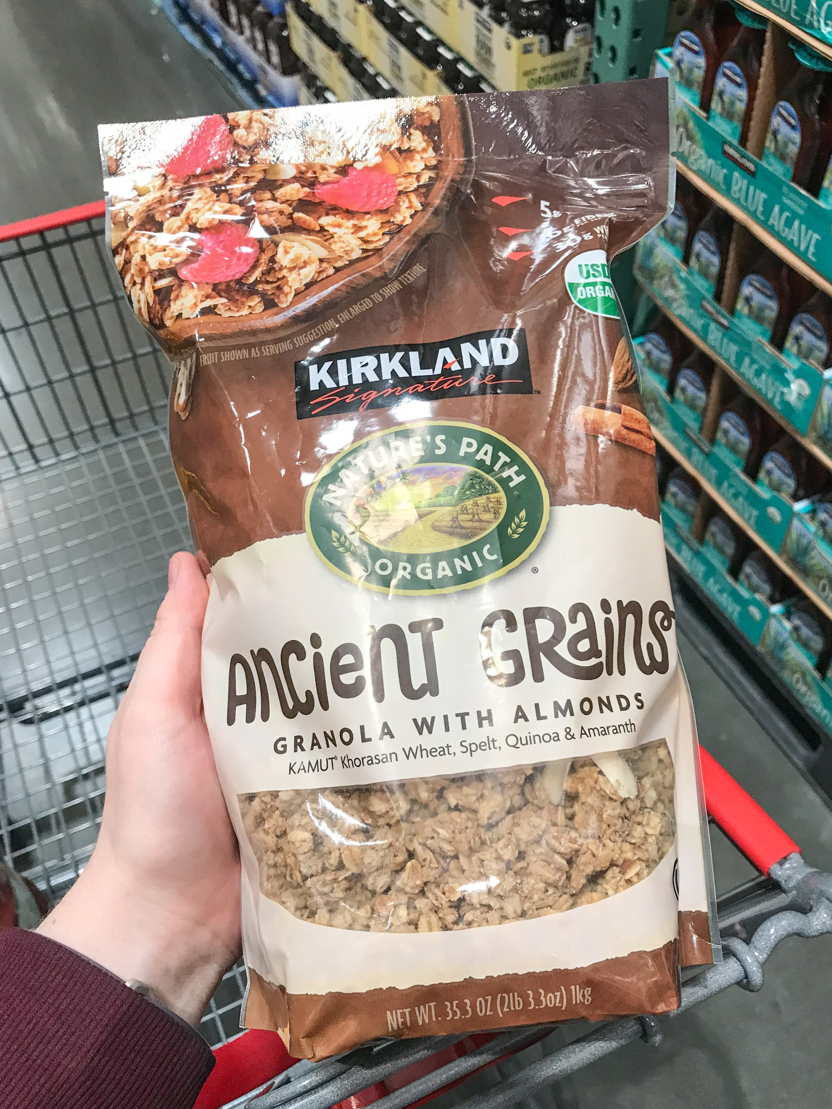 Ancient Grains Granola is on the list of 10 Best Healthy(ish) Snacks to Buy at Costco
