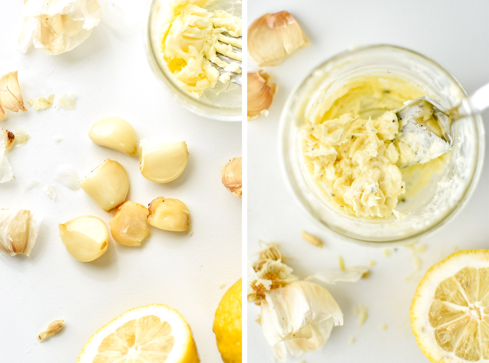 making lemon garlic butter for chicken meatballs two ways meal prep lunches
