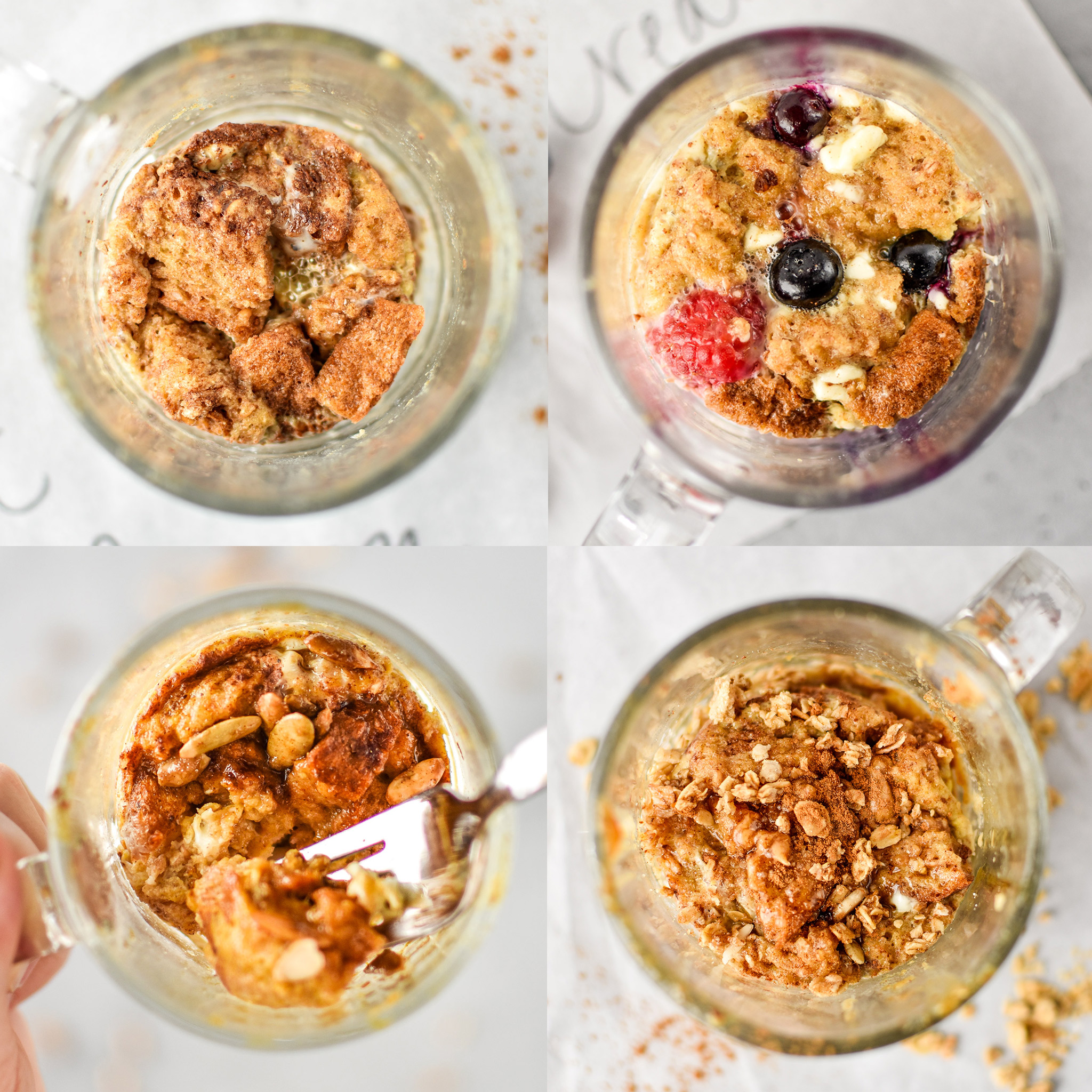Microwave Mug French Toast Four Ways Project Meal Plan