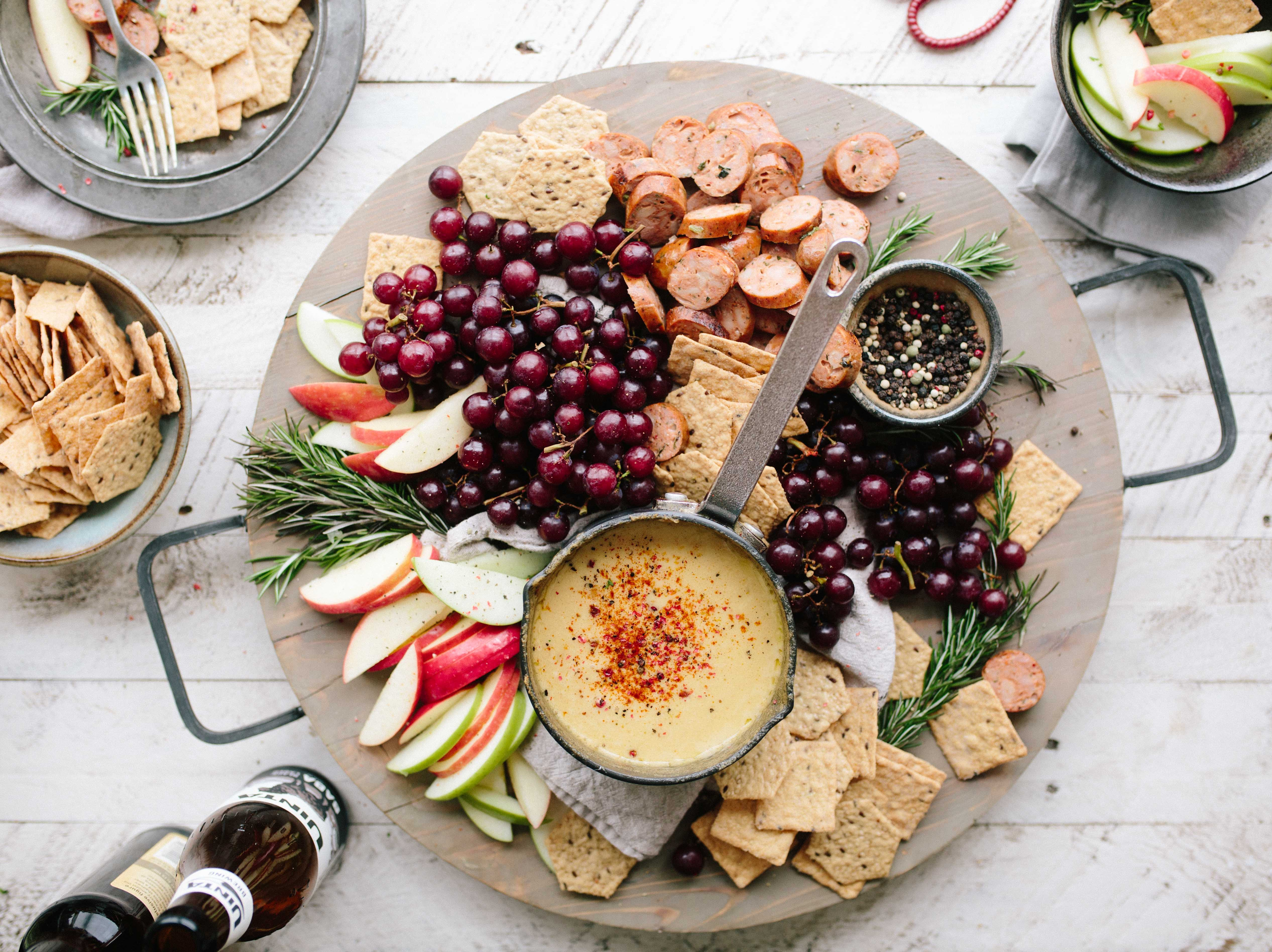 A room temp appetizer you can serve to save fridge and oven space - 10 helpful tips for bringing food to a dinner party