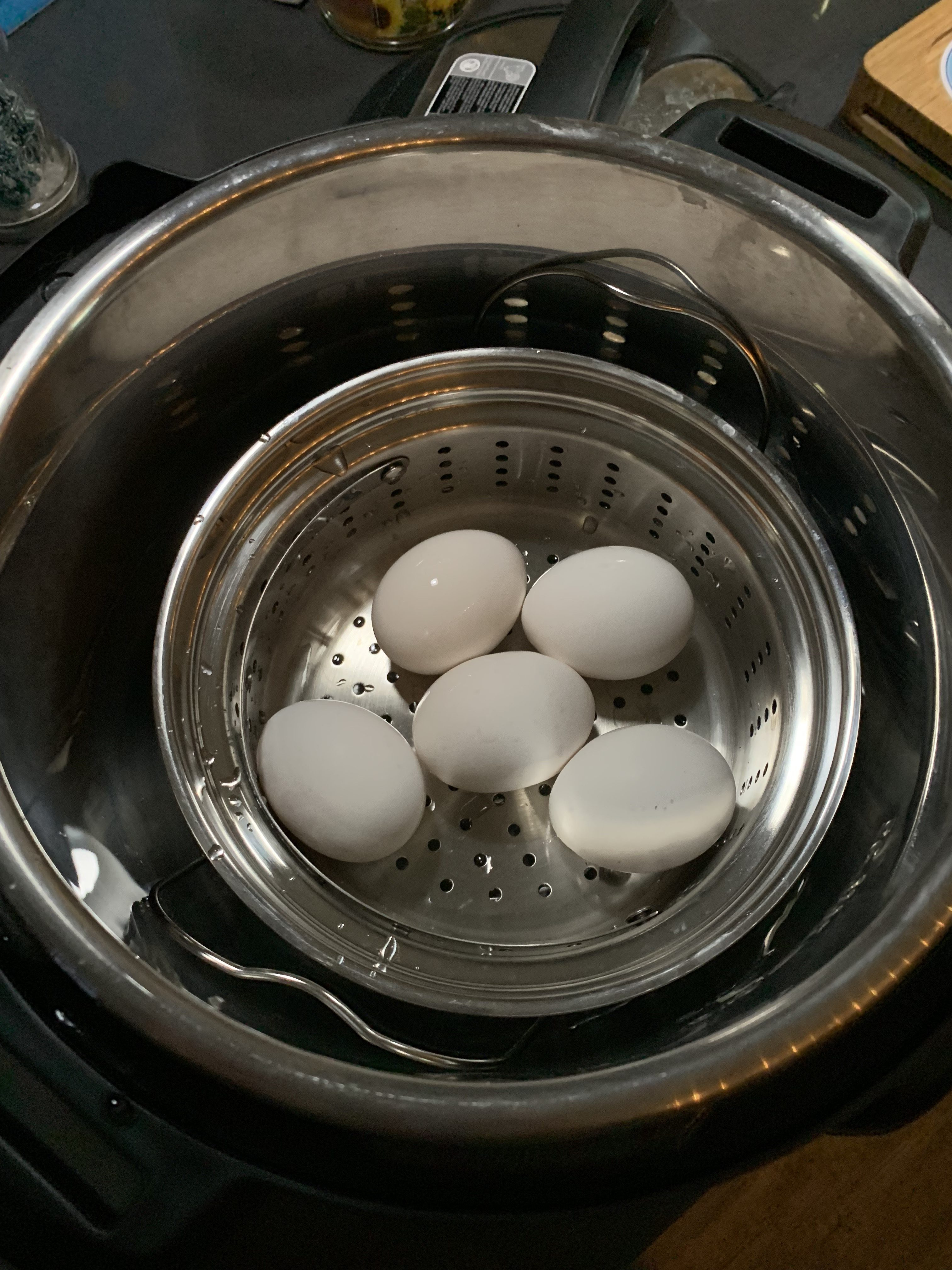 hard boiled eggs - Here are The First 25 Recipes I Made With My Instant Pot