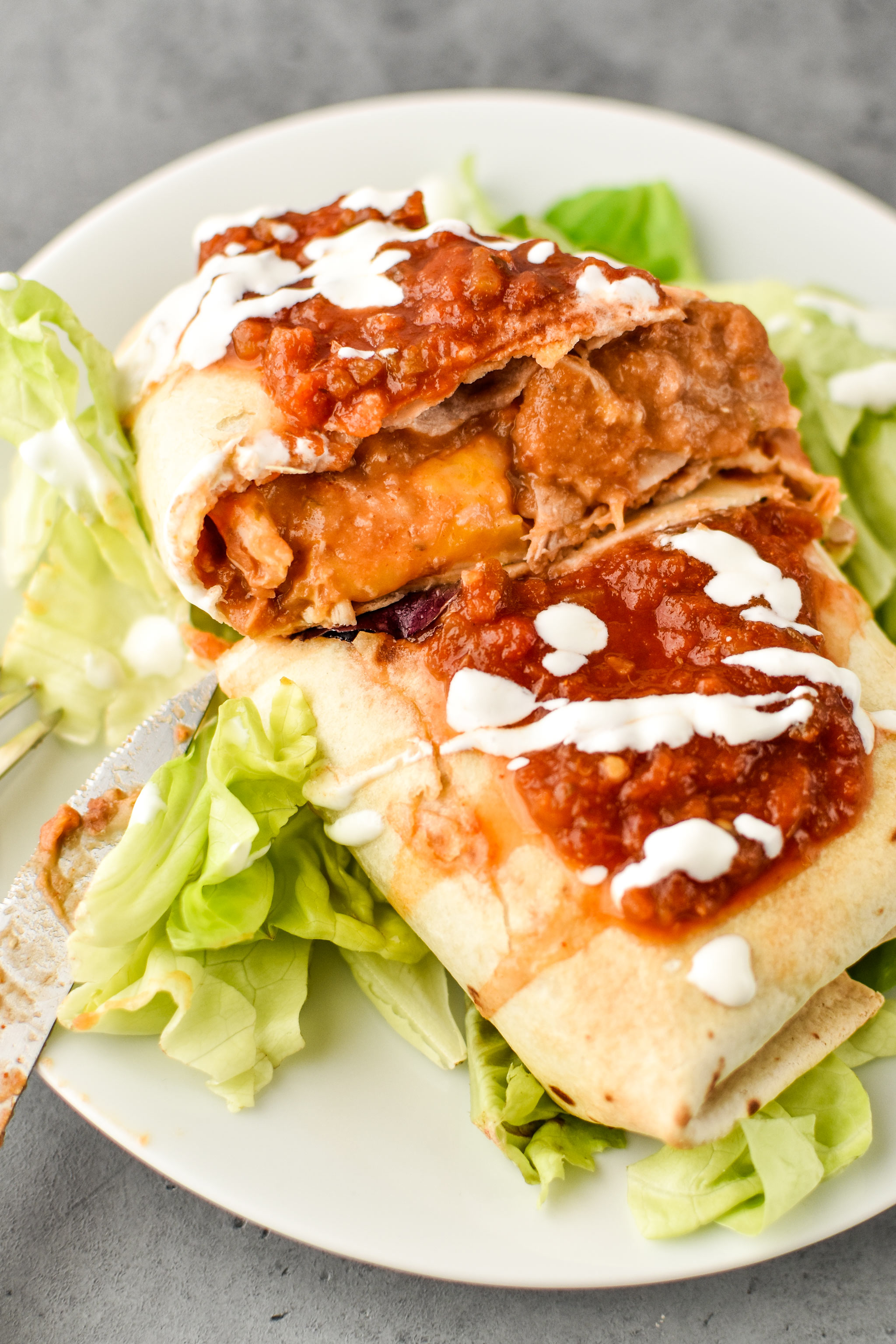 delicious chimichangas - how to make chimichangas in an air fryer