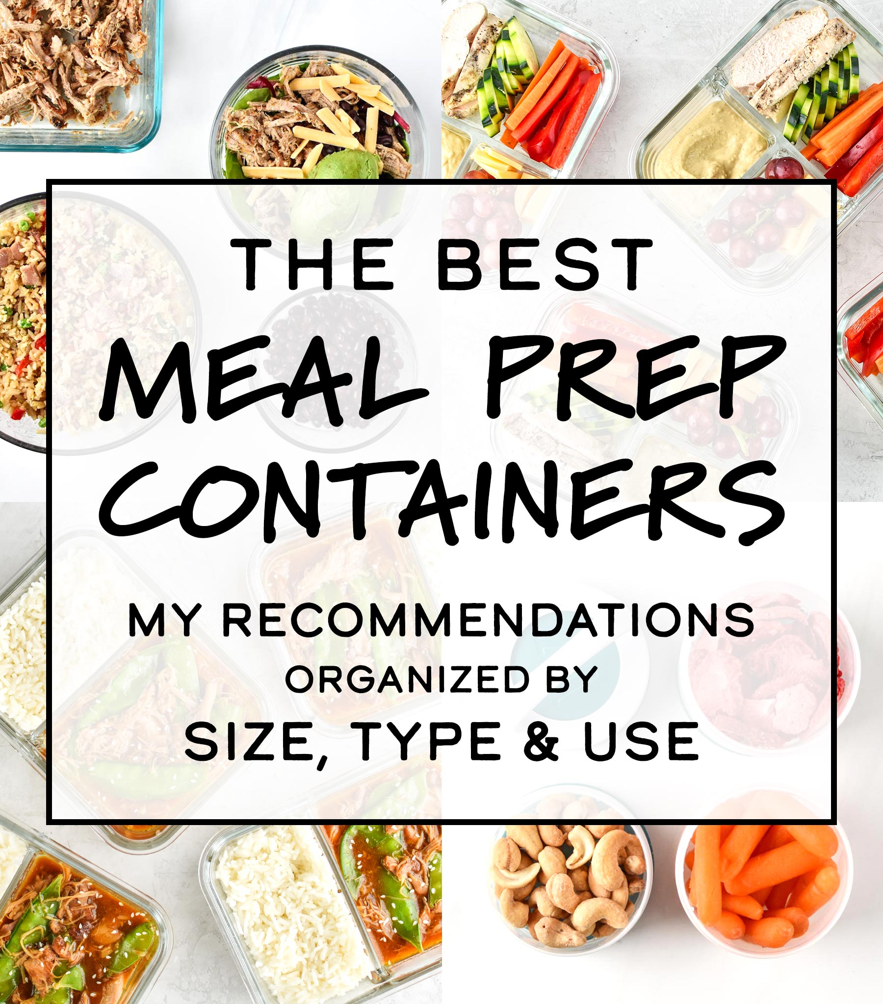 Best Meal Prep Containers 2019 The Best Meal Prep Containers By Size, Type & Use   Project Meal Plan