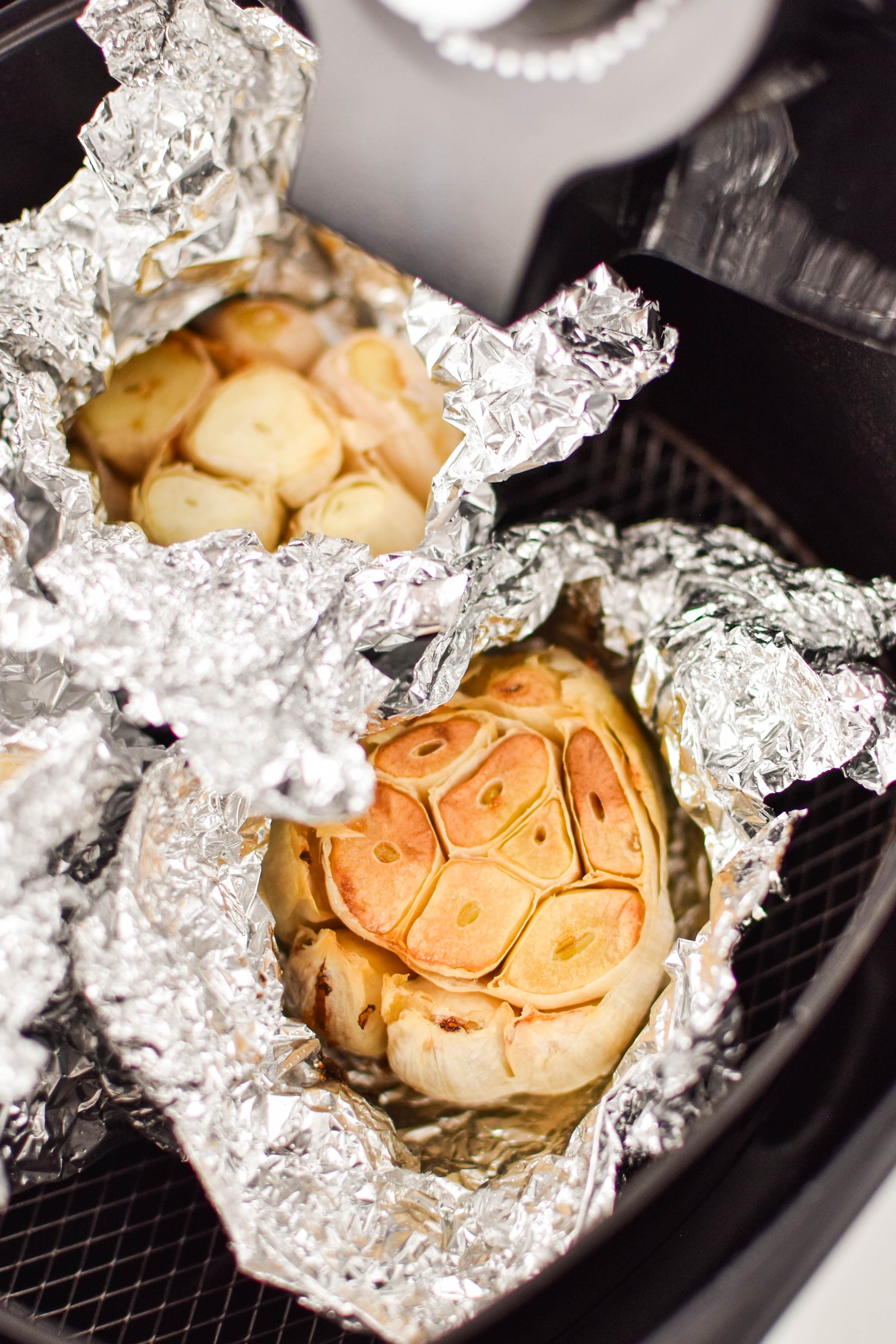 How to roast garlic in the air fryer