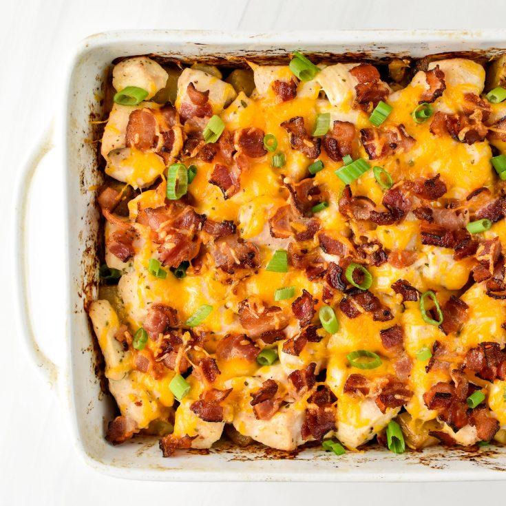 #8 Chicken Bacon Ranch Potato Bake