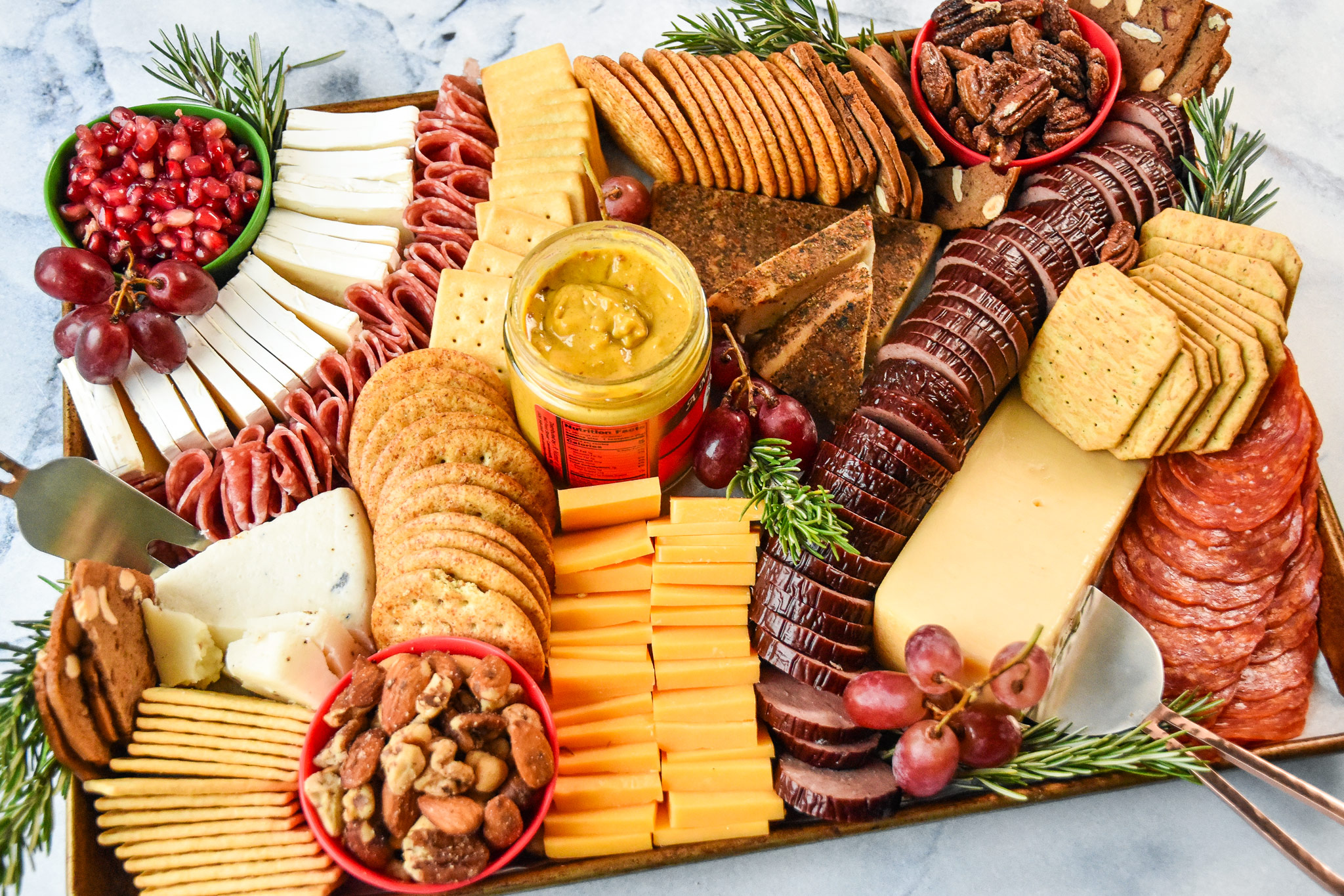 perfect trader joe's winter cheese board
