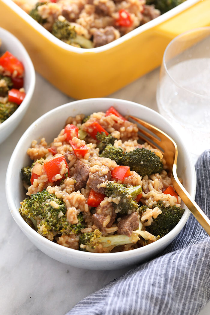 Beef and Broccoli Casserole